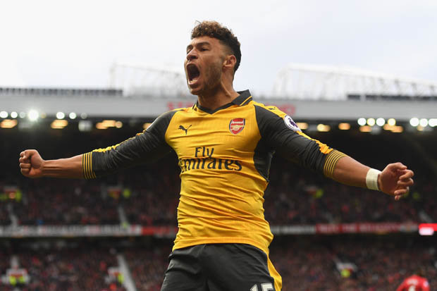 Image result for chamberlain man utd