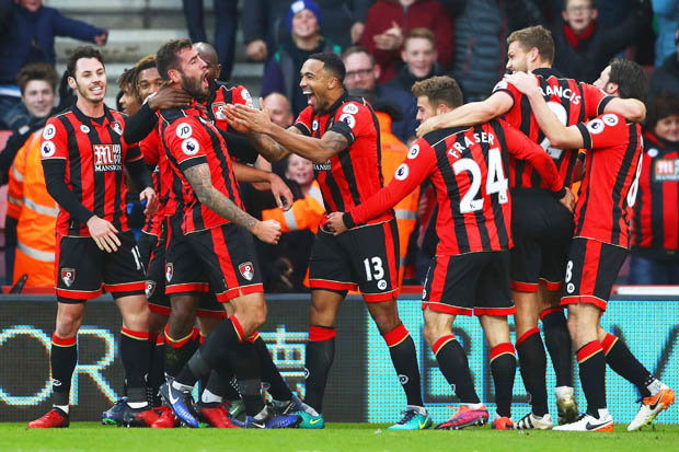 Bournemouth 43 Liverpool Relive all the action from a