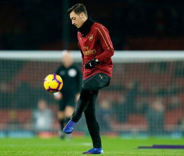 Arsenal Star Mesut Ozil Has Struggled For Regular Game Time This Season Pic Getty