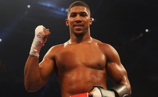 Anthony Joshua I Can Be Like Muhammad Ali At The End Of