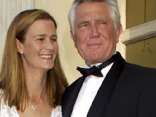 Image result for george lazenby and pam shriver wedding