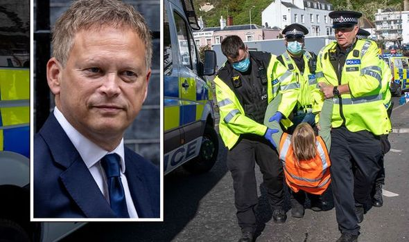 Grant Shapps victorious as High Court ruling stops ALL protests around Port of Dover