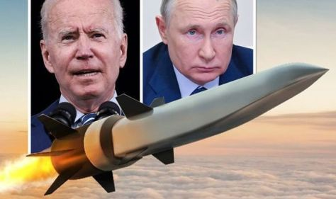 Hypersonic missile showdown: US send signal to Putin with 3,800mph 'air-breathing' weapon