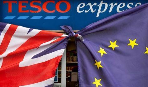 Brexit masterstroke: Tesco bucks trend after big business meltdown over EU withdrawal