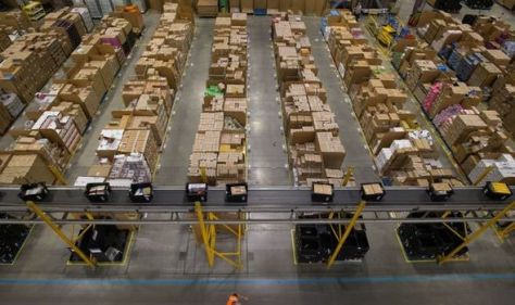 'Battle for labour!' Companies compete for Christmas workers as Amazon offers £3,500 bonus