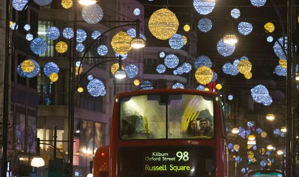christmas lights london # 31