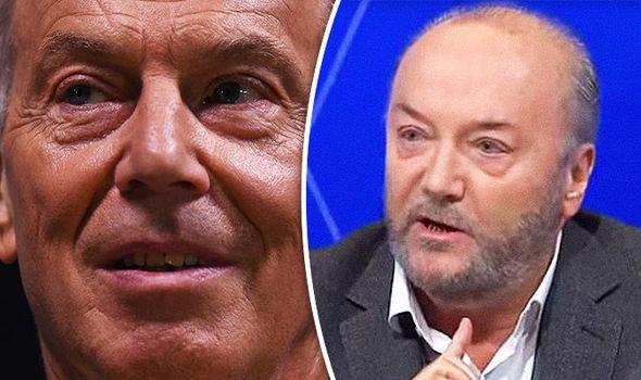 Brexit news - Galloway Tony Blair