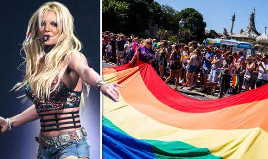 Image result for Britney Spears Headlines Brighton Pride