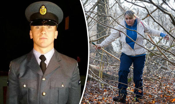 Nicola Urquhartis and Corrie McKeague