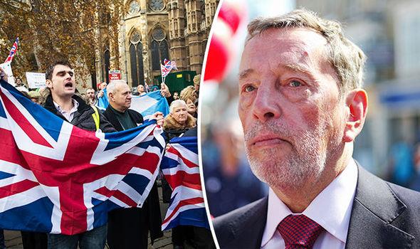 David Blunkett and Brexiteers