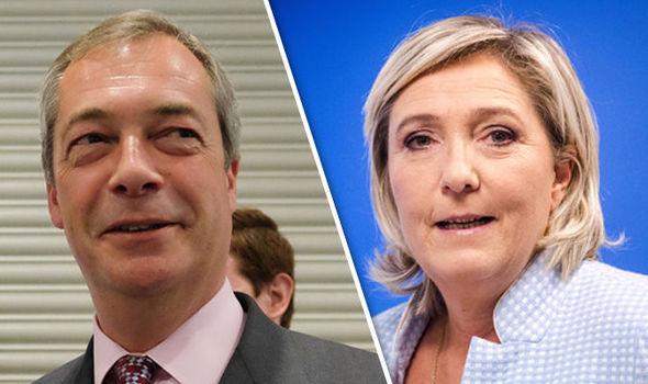 Farage Le Pen
