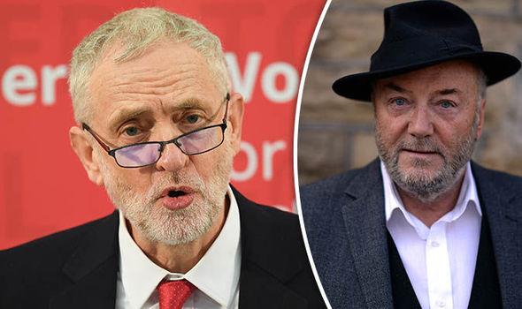 George Galloway slammed Jeremy Corbyn