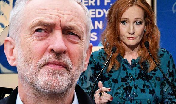 Jeremy Corbyn Humiliation Jk Rowling S Brutal Mockery Of