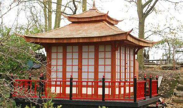 Flavour of Far East in Essex not Japan Man builds tea