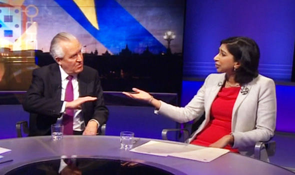 Lord Hain was accused of 'abusing his power' after vowing to vote against the Article 50 bill