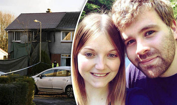 Cameron Logan and Rachel Williams of Milngavie