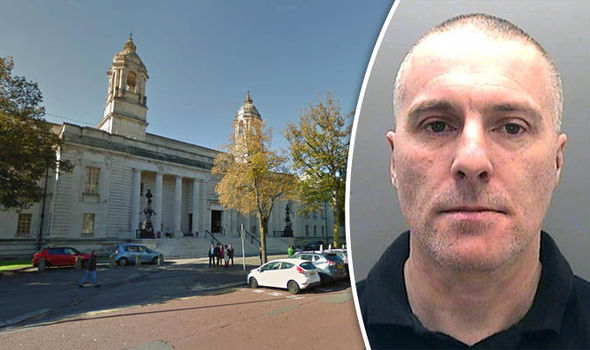 Paedophile Stuart Bailey and Cardiff Crown Court