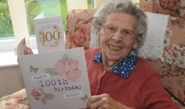 Nellie Osborn celebrated her 100th birthday