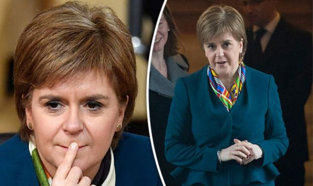 Nicola Sturgeon insisted she wants a poll to secure Scotland's relationship with Europe