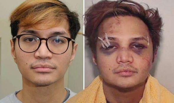Reynhard Sinaga battered face