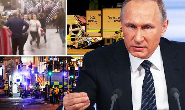 Russia Putin ISIS Manchester terror