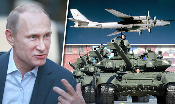 Russia and Nato could be gearing up for armed conflict