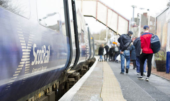 ScotRail passengers