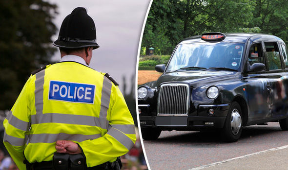 A schoolgirl was allegedly abducted by a gang in a black taxi in Stourbridge