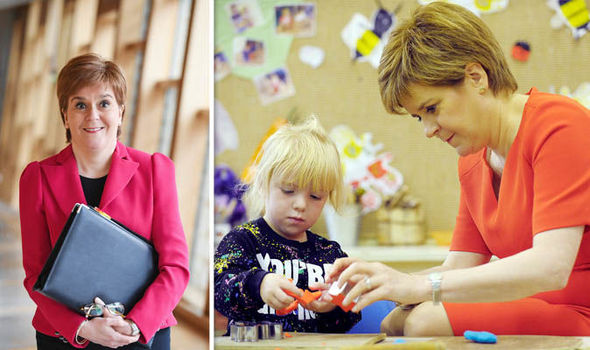 Sturgeon's childcare plans have a funding gap