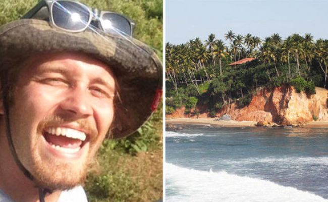 Tom Perry Brit Backpacker Plunges To His Death During