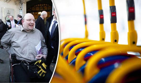 Wheelchair user Doug Paulley