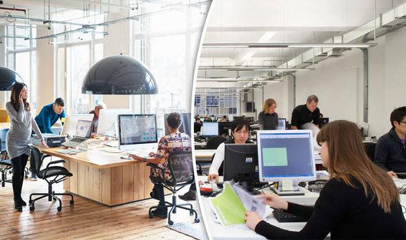Women sat in an office working