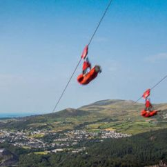4 Man Zip Wire Wales Furnace Ductwork Diagram Grandfather Dies After Riding Zipwire Uk News Express Co From Suspected Heart Attack