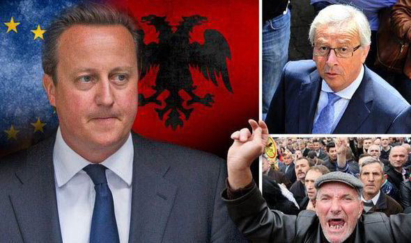 Albanians Could Be On Their Way To Britain As David
