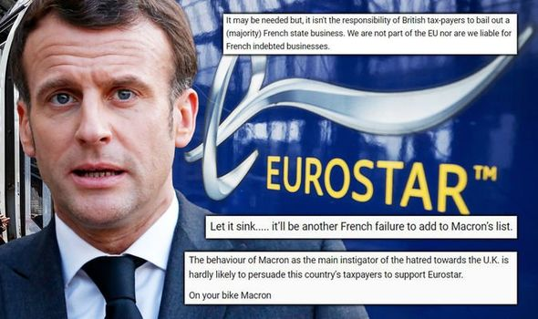 eurostar news uk france bailout