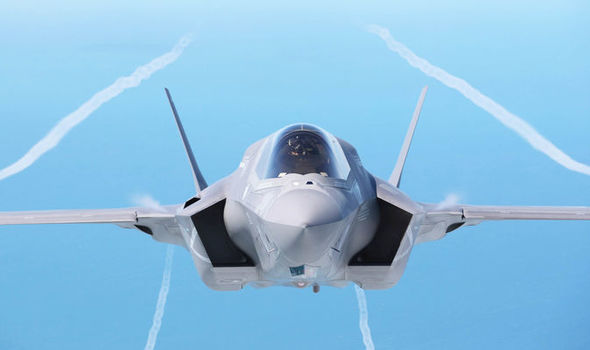 Lockheed Martin f35 stealth fighter