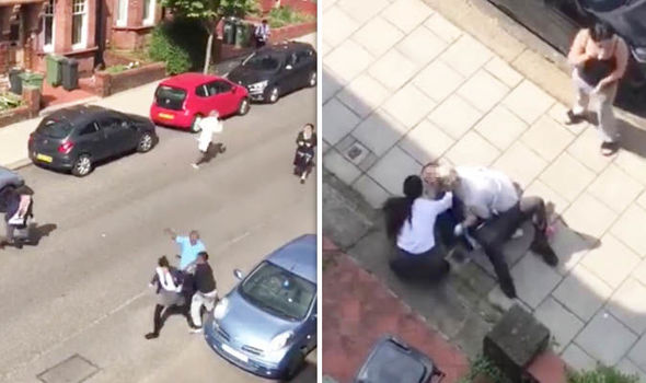London news: Video from the stabbing in Streatham