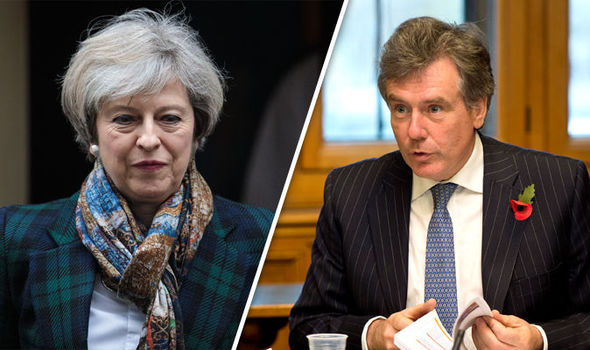 neil carmichael theresa may