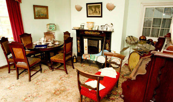 1940s home complete with toys and jewellery to be sold at