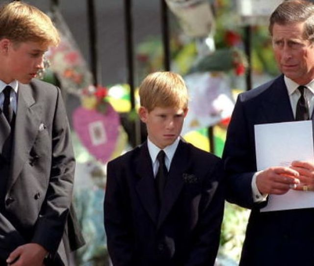Prince Harry Diana Funeral