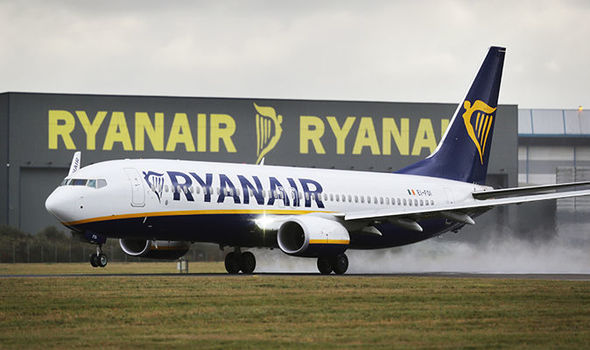 EASTER TRAVEL CHAOS Ryanair pilot strike set to spark mayhem  UK  News  Expresscouk