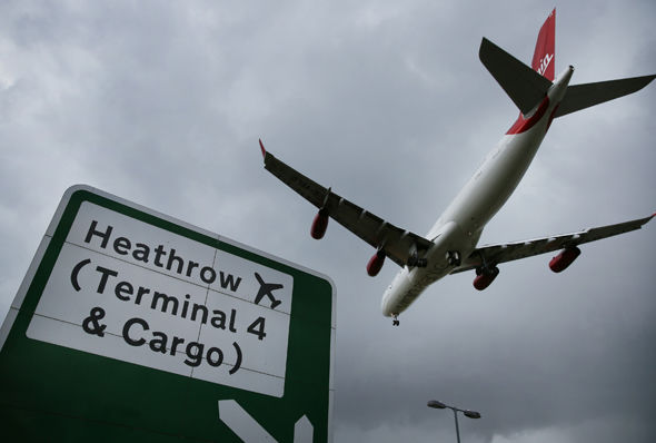 Air freight at Heathrow