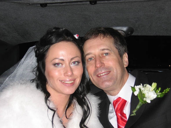 Barry Pring with his wife