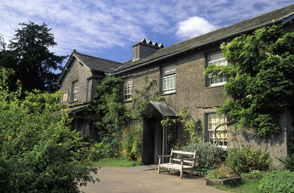 Beatrix Potter's cumbria home