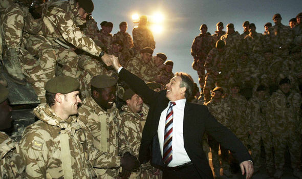 Blair has been widely criticised for his role in the Iraq war
