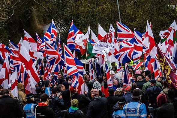 Britain First members