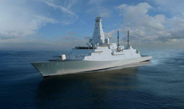 British shipbuilding contracts: Type-26 frigates