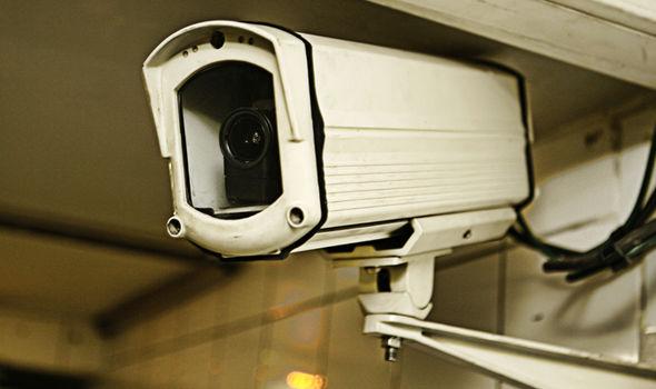 CCTV caught images of suspect