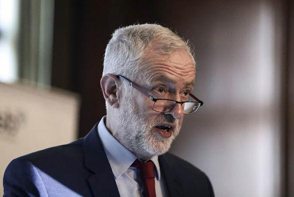 Jeremy Corbyn making a speech