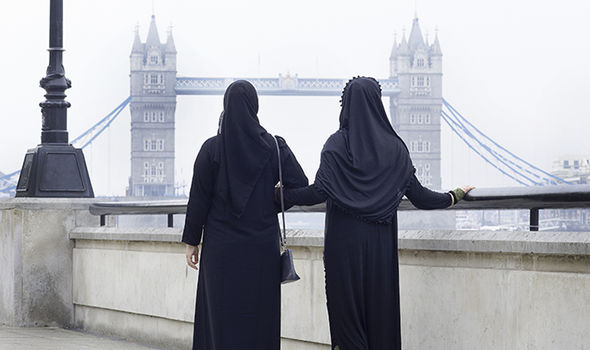 London shoppers can find the Debdenhams hijab